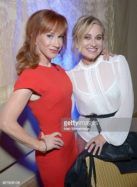 Actresses Kathy Griffin and Maureen McCormick attend Equality Now's third annual 'Make Equality Reality' Gala on December 5 2016 in Beverly Hills...