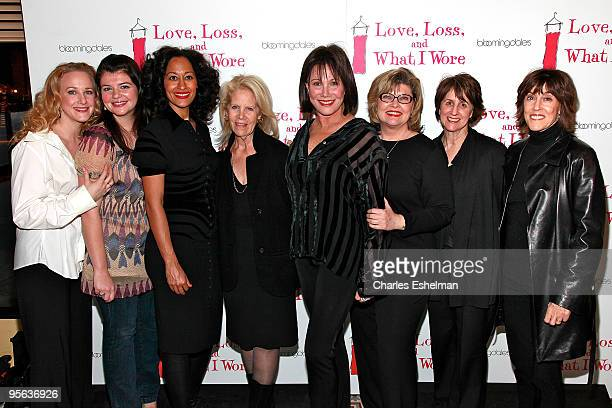 Actresses Katie Finneran Casey Wilson Tracee Ellis Ross producer Daryl Roth actresses Michele Lee Debra Monk and playwrights Nora Ephron and Delia...