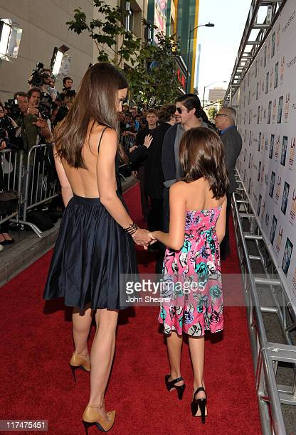 "Actresses Katie Holmes and Bailee Madison arrive at the ""Don't Be Afraid of The Dark"" Closing Night Gala screening during the 2011 Los Angeles Film..."