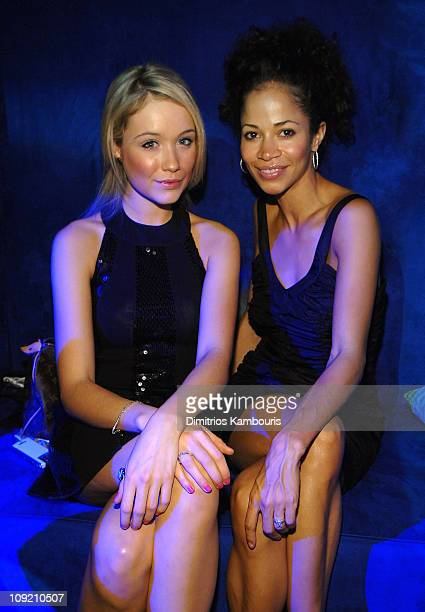 Actresses Katrina Bowden and Sherri Saum during the Conde Nast Traveler celebration of 20 years of Truth in Travel at Cooper Hewitt National Design...