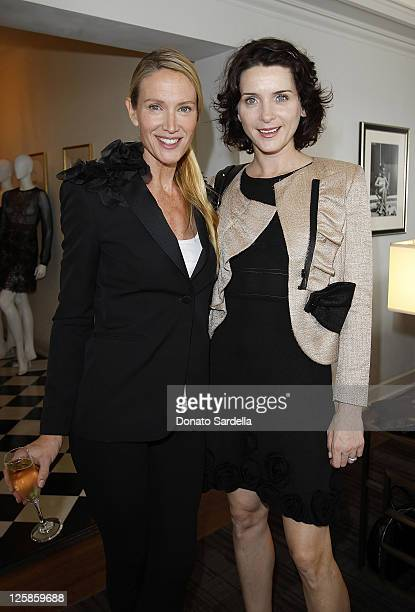 Actresses Kelly Lynch and Michele Hicks attend Vogue and Valentino Celebrate Spring/Summer 2011 Collection Hosted by Jacqui Getty and Gia Coppola...