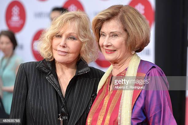 Actresses Kim Novak and Diane Baker attend the opening night gala screening of Oklahoma during the 2014 TCM Classic Film Festival at TCL Chinese...