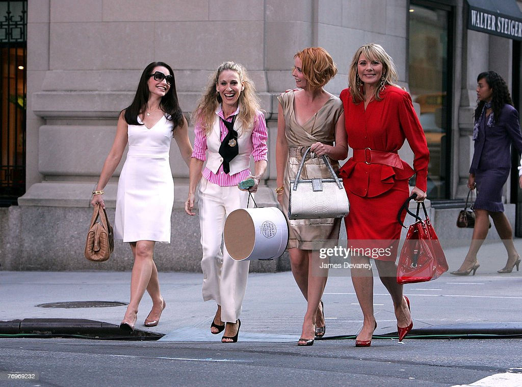 "On Location for ""Sex and the City: The Movie"" - September 21, 2007 : News Photo"