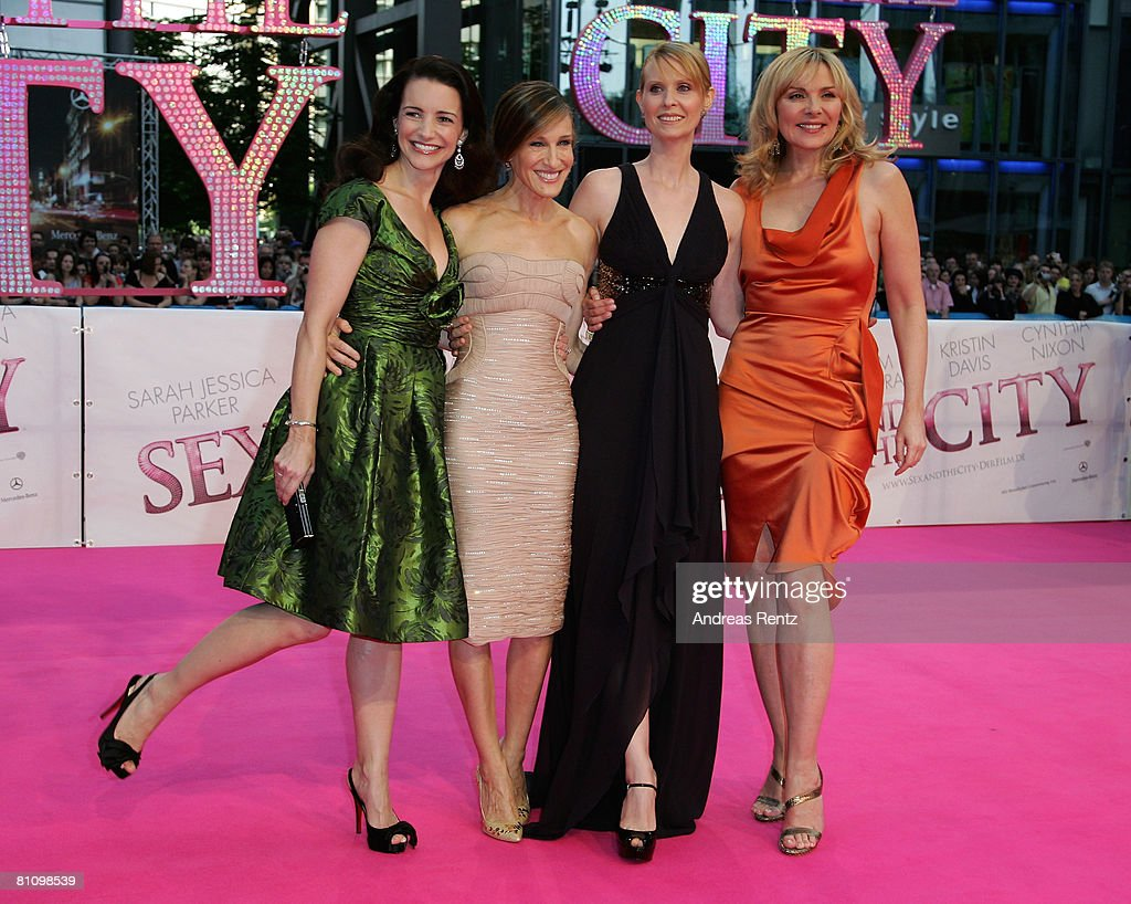 Sex And The City - German Premiere : News Photo