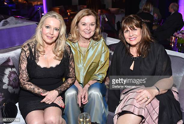 Actresses Kym Karath Heather Menzies and Debbie Turner attend the after party for the Opening Night Gala and screening of The Sound of Music during...
