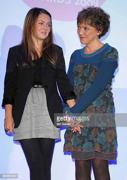 Actresses Lacey Turner and Gillian Wright attend the Mental Health Media Awards at BAFTA Headquarters Piccadilly on November 24 2009 in London England