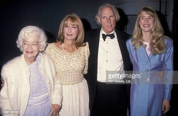 Actresses Laura Dern and Diane Ladd mother Mary Lanier and actor Bruce Dern attending 'Hollywood Legacy Awards Benefiting Enterntainment Museum' on...