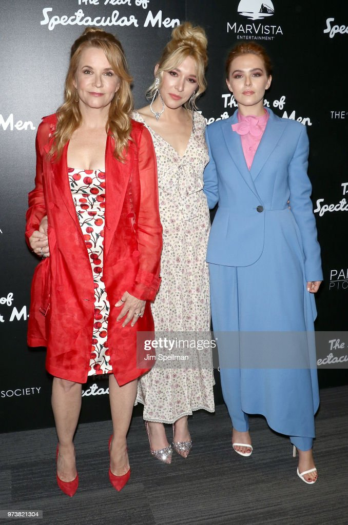 Actresses Lea Thompson, Madelyn Deutch and Zoey Deutch attend the screening of 'The Year Of Spectacular Men' hosted by MarVista Entertainment and Parkside Pictures with The Cinema Society at The Landmark at 57 West on June 13, 2018 in New York City.