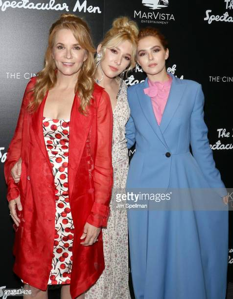 Actresses Lea Thompson Madelyn Deutch and Zoey Deutch attend the screening of 'The Year Of Spectacular Men' hosted by MarVista Entertainment and...