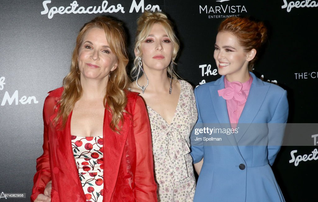 Actresses Lea Thompson, Madelyn Deutch and Zoey Deutch attends the screening of 'The Year Of Spectacular Men' hosted by MarVista Entertainment and Parkside Pictures with The Cinema Society at The Landmark at 57 West on June 13, 2018 in New York City.