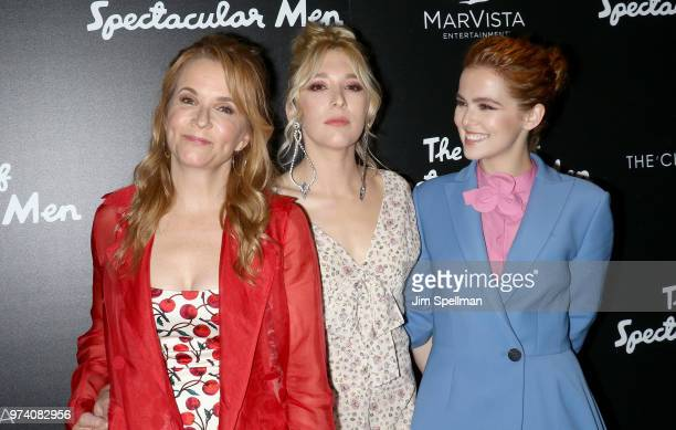Actresses Lea Thompson Madelyn Deutch and Zoey Deutch attends the screening of 'The Year Of Spectacular Men' hosted by MarVista Entertainment and...