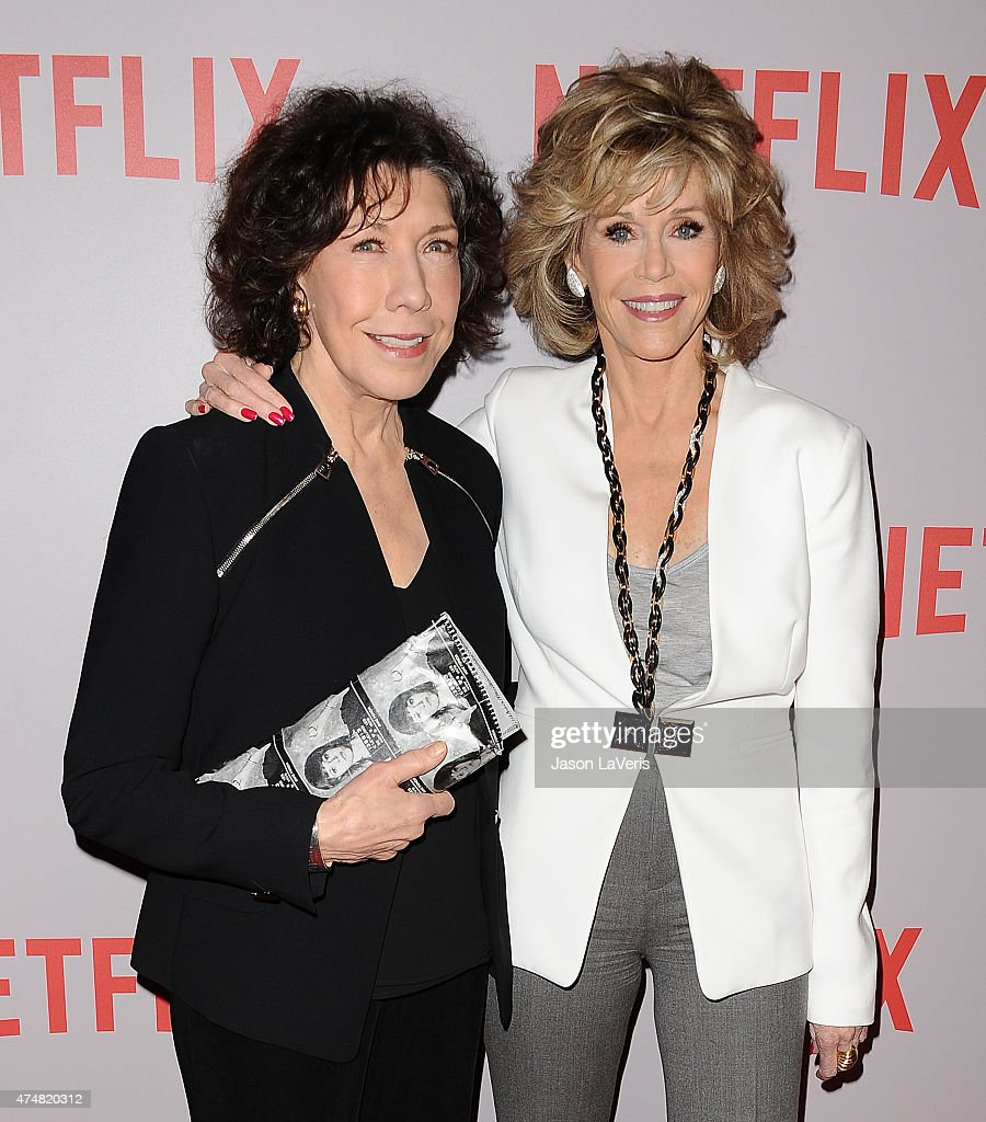 Actresses Lily Tomlin And Jane Fonda Attend Netflix's