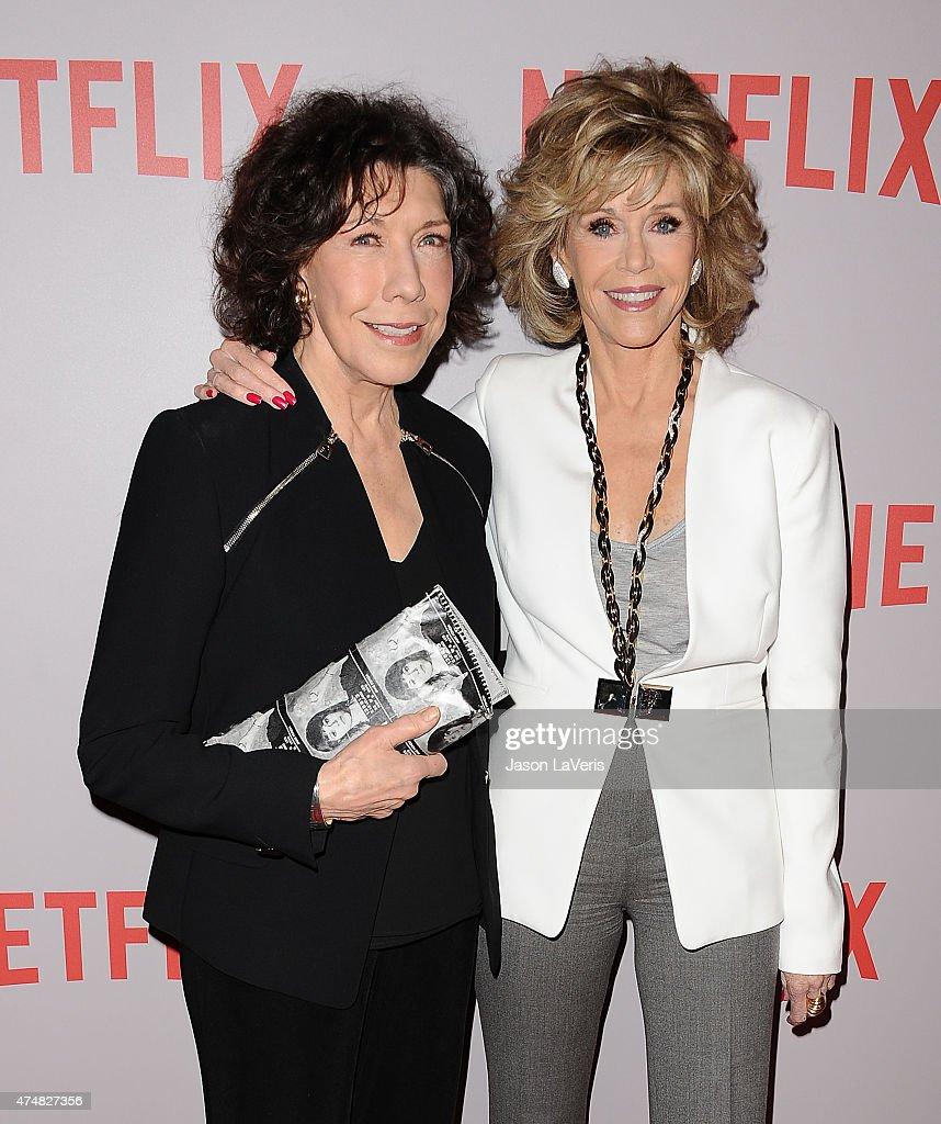 "Netflix's ""Grace & Frankie"" Q&A Screening Event : Nachrichtenfoto"