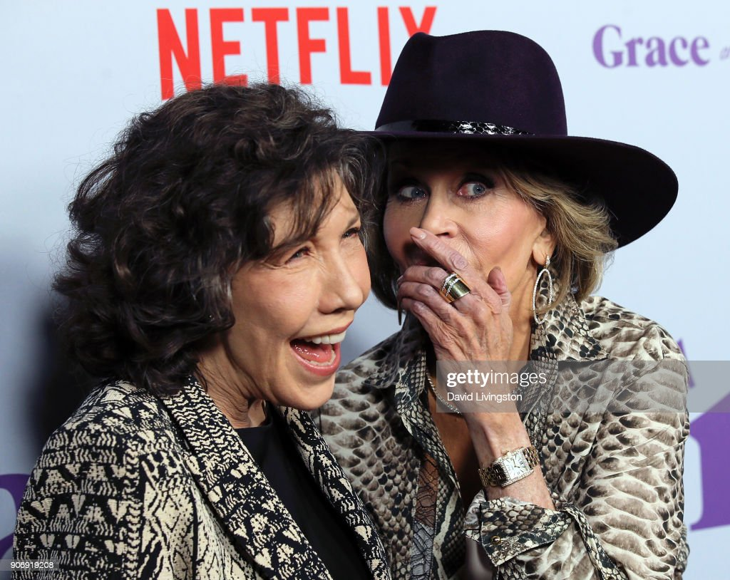 "Premiere Of Netflix's ""Grace And Frankie"" Season 4 - Arrivals : News Photo"