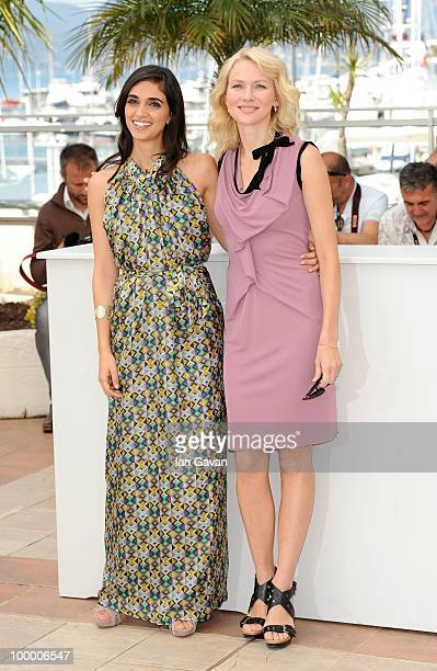 Actresses Liraz Charhi and Naomi Watts attend the 'Fair Game' Photocall at the Palais des Festivals during the 63rd Annual Cannes Film Festival on...