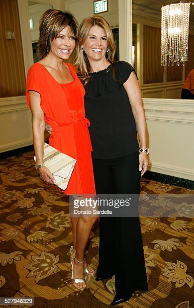 Actresses Lisa Rinna and Lori Loughlin attend the Saks Fifth Avenue presents Oscar De La Renta Fall 2008 Collection at the Annual Colleagues Luncheon...