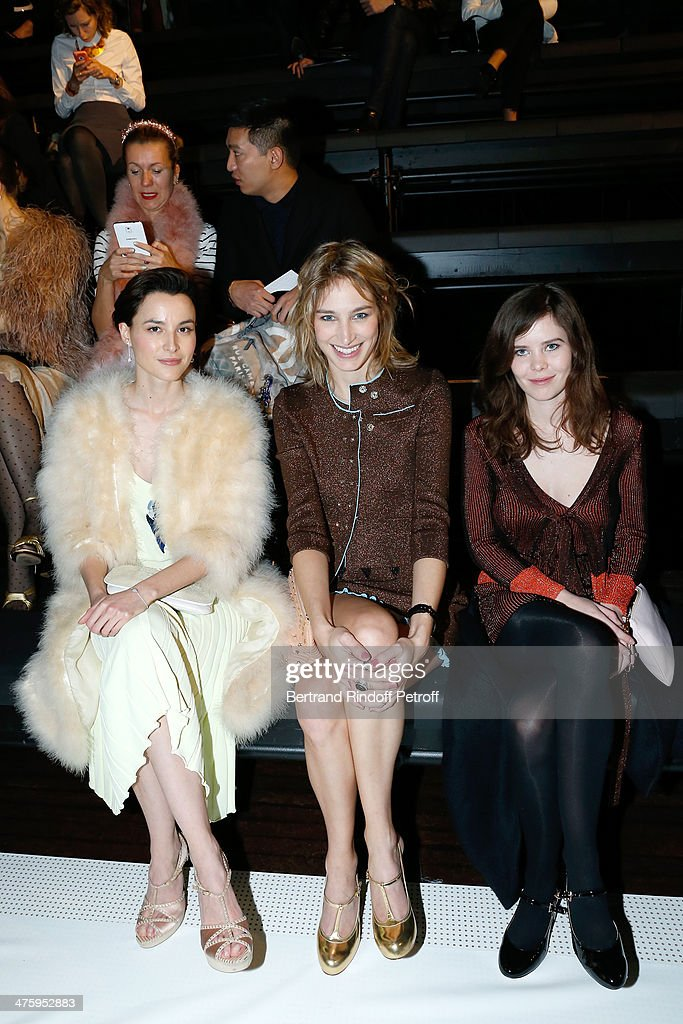 Sonia Rykiel : Front Row  - Paris Fashion Week Womenswear Fall/Winter 2014-2015