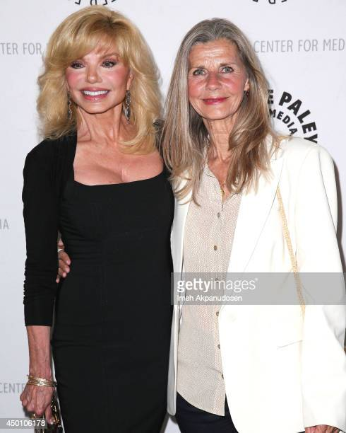 Actresses Loni Anderson and Jan Smithers attend the Paley Center presentation of 'Baby If You've Ever Wondered A WKRP In Cincinnati Reunion' at The...