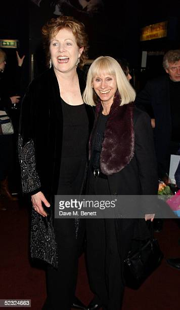 Actresses Lynn Redgrave and Rita Tushingham attend the book launch party for Lynn's new autobiography Journal A Mother and Daughter's Recovery from...