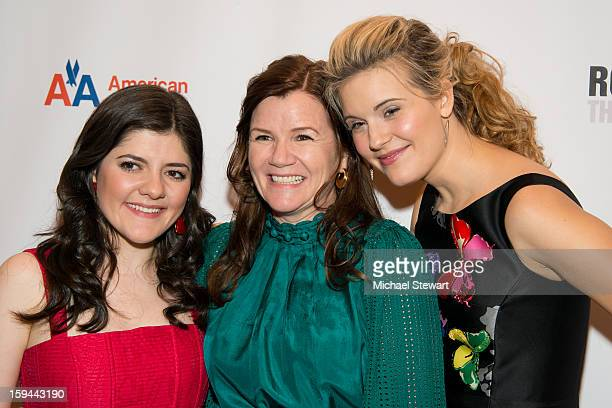 Actresses Madeleine Martin Mare Winningham and Maggie Grace attend 'Picnic' Broadway Opening Night at American Airlines Theatre on January 13 2013 in...