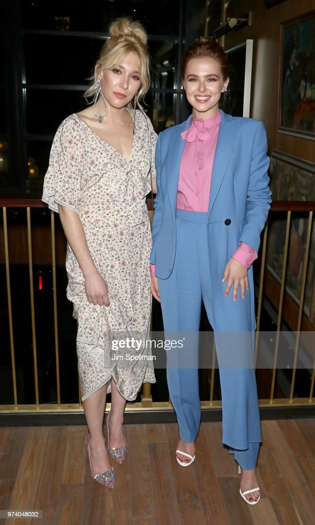 Actresses Madelyn Deutch (L) and Zoey Deutch attend the screening after party for 'The Year Of Spectacular Men' hosted by MarVista Entertainment and Parkside Pictures with The Cinema Society at Legacy Records on June 13, 2018 in New York City.