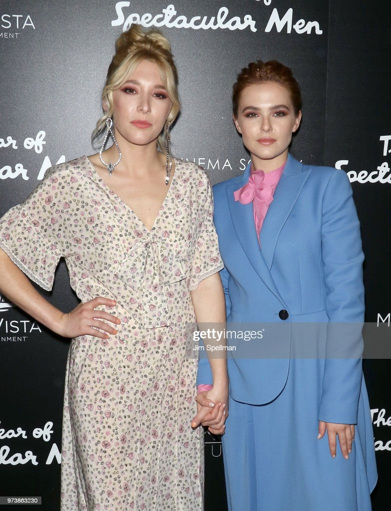 Actresses Madelyn Deutch (L) and Zoey Deutch attend the screening of 'The Year Of Spectacular Men' hosted by MarVista Entertainment and Parkside Pictures with The Cinema Society at The Landmark at 57 West on June 13, 2018 in New York City.