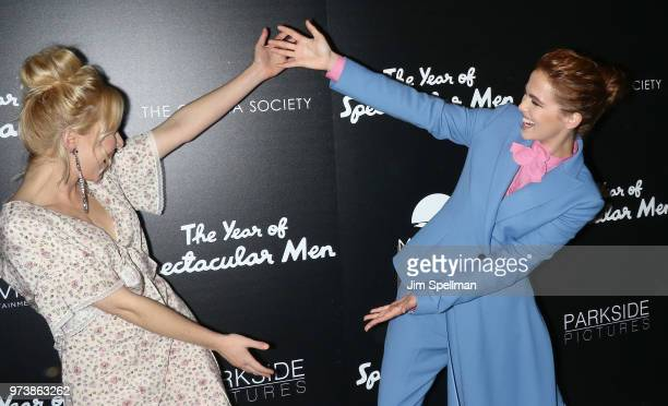 Actresses Madelyn Deutch and Zoey Deutch attend the screening of 'The Year Of Spectacular Men' hosted by MarVista Entertainment and Parkside Pictures...