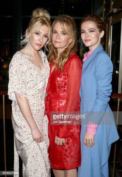 Actresses Madelyn Deutch Lea Thompson and Zoey Deutch attend the screening after party for 'The Year Of Spectacular Men' hosted by MarVista...