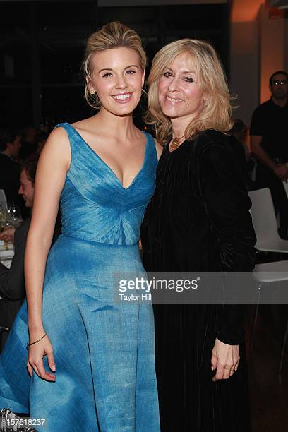 Actresses Maggie Grace and Judith Light attend the Global Green USA 13th Annual Sustainable Design Awards at Three Sixty on December 3 2012 in New...