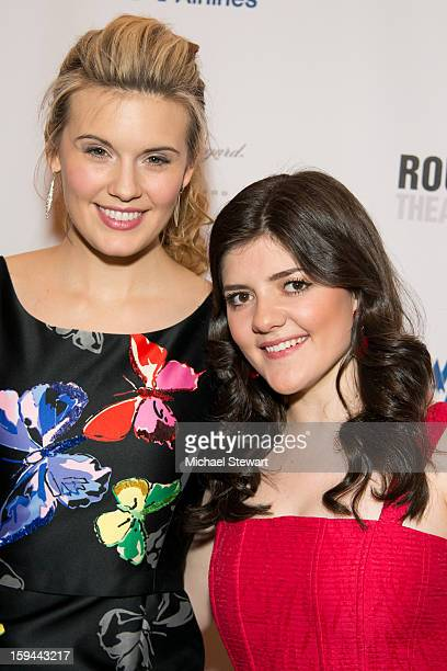 Actresses Maggie Grace and Madeleine Martin attend 'Picnic' Broadway Opening Night at American Airlines Theatre on January 13 2013 in New York City