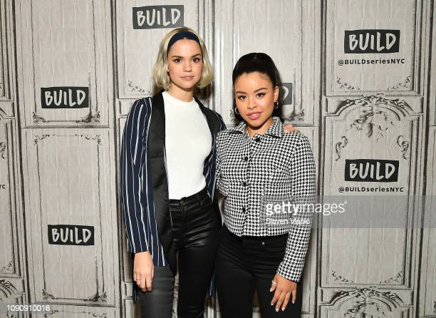 Actresses Maia Mitchell and Cierra Ramirez visit Build Series to discuss drama TV series ÒGood Trouble at Build Studio on January 29 2019 in New York...