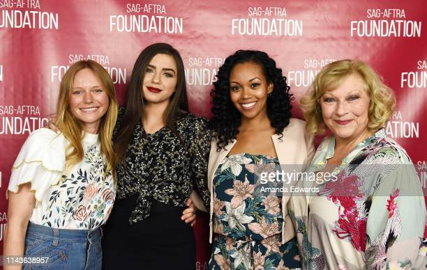 Actresses Marci Miller Victoria Konefal Mishael Morgan and Beth Maitland attend the SAGAFTRA Foundation Conversations with Emmy Nominated daytime...