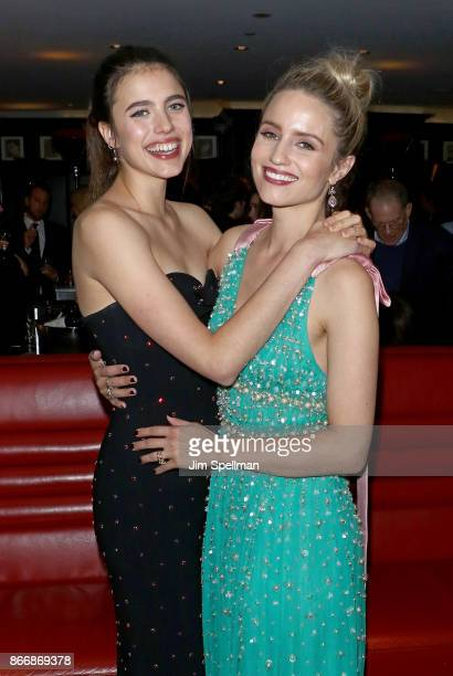 Actresses Margaret Qualley and Dianna Agron attend the screening after party for Sony Pictures Classics' 'Novitiate' hosted by Miu Miu and The Cinema...