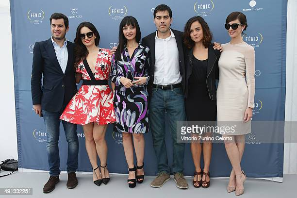 Actresses Maria de Medeiros Ana de la Reguera Ricardo Giraldo actresses Alice Braga and Paz Vega attend the Fenix Film Awards at the 67th Annual...