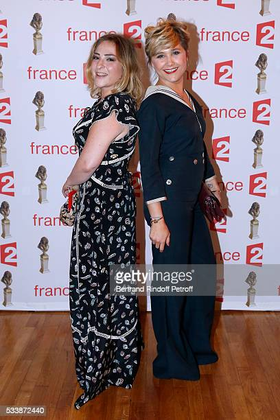 Actresses Marilou Berry and Berengere Krief attend La 28eme Nuit des Molieres on May 23 2016 in Paris France
