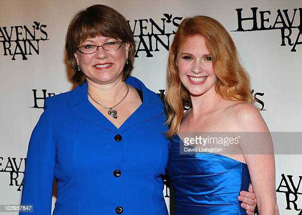 Actresses Marilyn McIntyre and Erin Chambers attend the premiere of Heaven's Rain at ArcLight Cinemas on September 9 2010 in Hollywood California