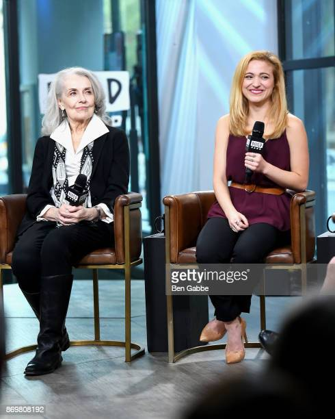 Actresses Mary Beth Peil and Christy Altomare visit the Build Series to discuss 'Anastasia' at Build Studio on November 3 2017 in New York City