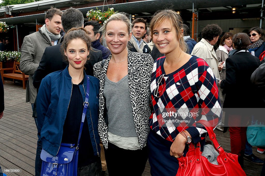 Celebrities At French Open 2013 - Day 6