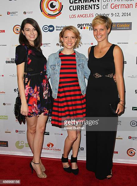 Actresses Melanie Friedrich Nina Rausch and Jana Narwartschi attend the German Currents 8th Annual Festival of German Film Opening night gala...