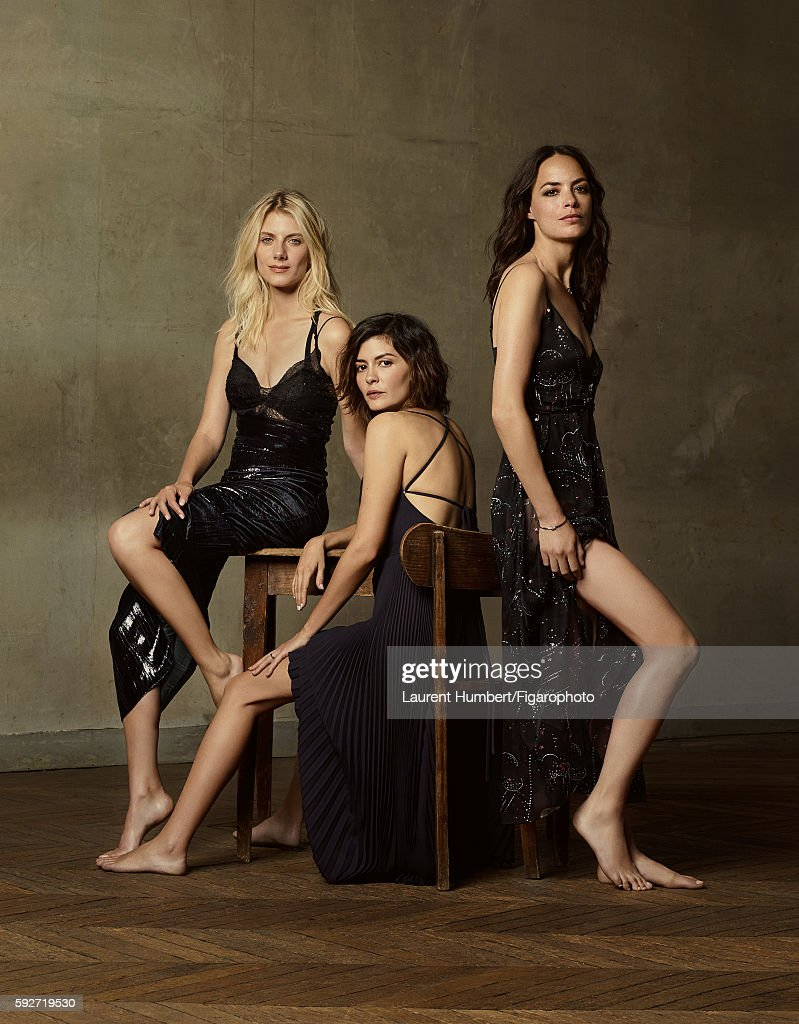 Cast of Eternity, Madame Figaro, August 5, 2016 : News Photo