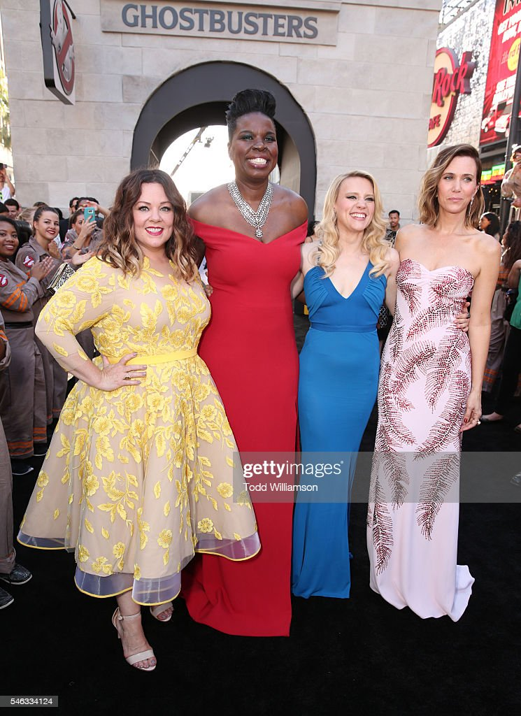 "Premiere Of Sony Pictures' ""Ghostbusters"" - Red Carpet"
