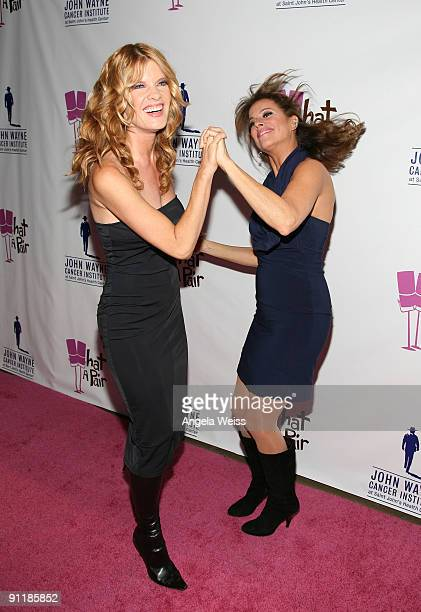 Actresses Michelle Stafford and Nancy Grahn arrive at 'What A Pair 7' the seventh annual celebrity concert benefiting the John Wayne Cancer Institute...