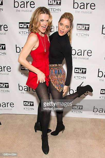 Actresses Missi Pyle Christina Moore attend BARE The Musical Opening Night After Party at Out Hotel on December 9 2012 in New York City