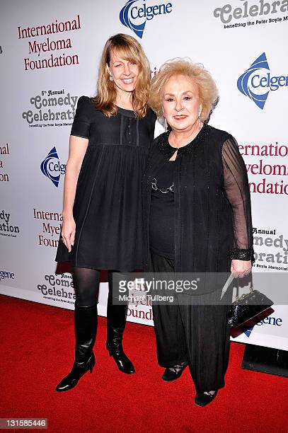 Actresses Monica Horan and Doris Roberts arrive at the 5th Annual International Myeloma Foundation Comedy Celebration Benefiting The Peter Boyle...