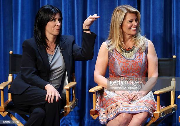 Actresses Nancy McKeon and Lisa Whelchel speak during The Paley Center for Media's PaleyFest 2014 Fall TV Preview The Facts of Life 35th Anniversary...