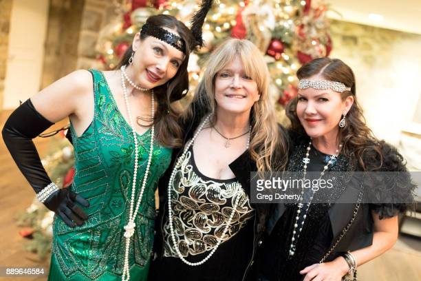 Actresses Nancy O'Brien Susan Olsen and Kira Reed Lorsch attend The Thalians Hollywood for Mental Health Holiday Party 2017 at the Bel Air Country...