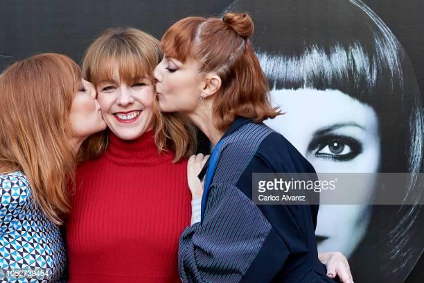 Actresses Natalia de Molina, Eva Llorach and Najwa Nimri attend 'Quien Te Cantara' photocall at Princesa cinema on October 22, 2018 in Madrid, Spain.