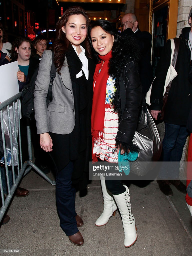 """""""Spider-Man: Turn Off The Dark"""" Broadway Preview Opening Night - Departures : News Photo"""