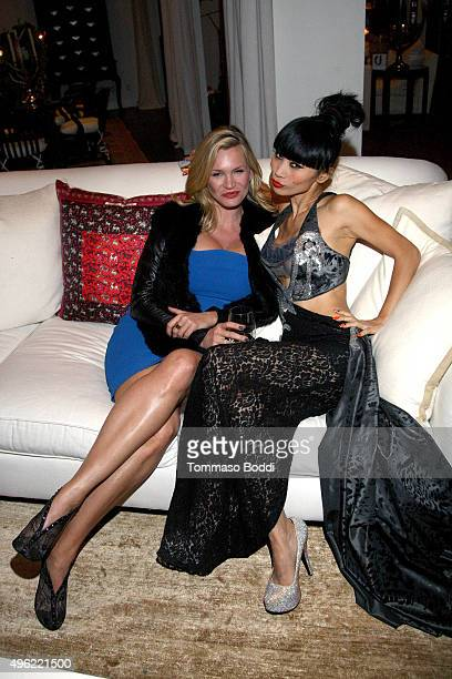 Actresses Natasha Henstridge and Bai Ling attend the Children MatterNGO first annual gala on November 7 2015 in Beverly Hills California