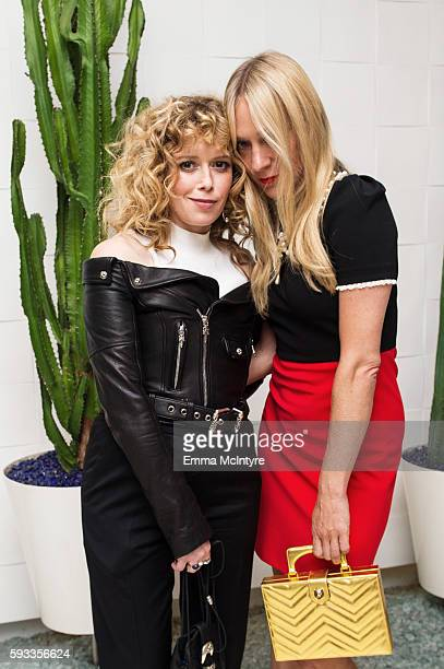 Actresses Natasha Lyonne and Chloe Sevigny attend the Women of Cinefamily weekend closing party at The Standard Hollywood on August 21 2016 in West...